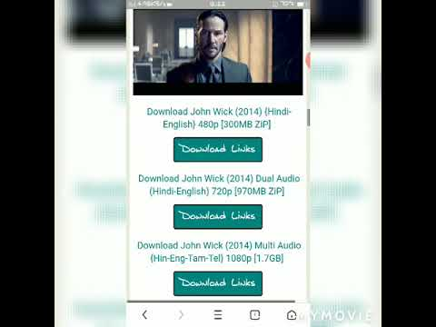 How to download any hollywood or bollywood movie in hd quality