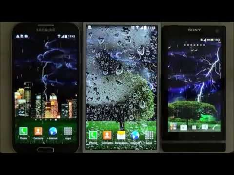 Video of Thunderstorm Live Wallpaper