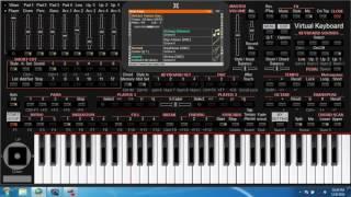 KORG I ONE # CONTOH SONG MIDI DI BUAT STYLE #