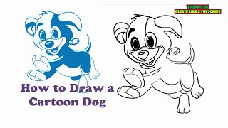 Thank you for watching. Please Subscribe..Easiest Drawings Ever.. Learn to draw a cartoon dog .How to draw for Kids and Adults.. Simple Drawings.Audio CopyrightsBrandenburg Concerto No4-1 BWV1049 - Classical Whimsical by Kevin MacLeod is licensed under a Creative Commons Attribution license (https://creativecommons.org/licenses/by/4.0/)Source: http://incompetech.com/music/royalty-free/index.html?isrc=USUAN1100303Artist: http://incompetech.com/