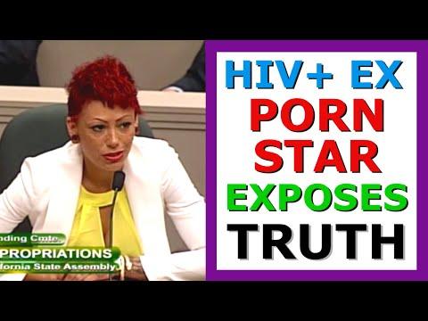 HIV+ Ex Porn Star Cameron Adams (Bay) 1/2. Exposes Porn Exploitation to Senate &Supports Condom Bill (видео)