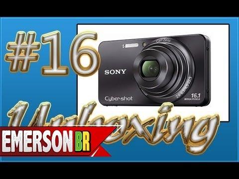 Video #016 Unboxing e Analise -  Câmera Digital Sony Cyber-Shot DSC-W570 16.1MP 720p download in MP3, 3GP, MP4, WEBM, AVI, FLV January 2017