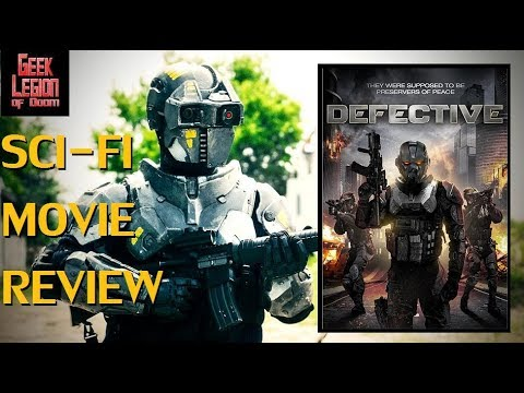 DEFECTIVE ( 2017 Dennis Andres ) Cyborg Cop Sci-Fi Movie Review