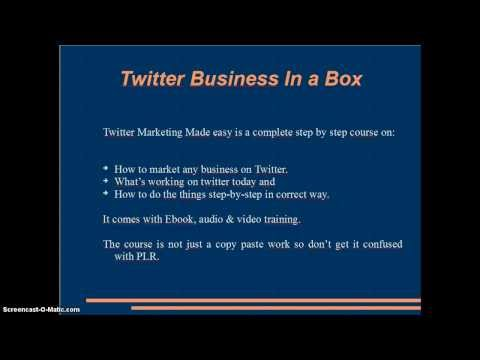 ++++ WSO & JVZoo Reviews: Twitter Business In a Box Review + bonuses ++++ oh lala