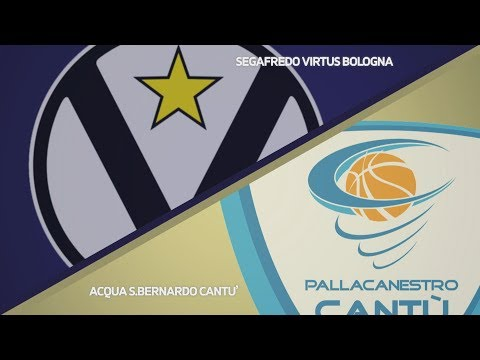 Virtus, gli highlights del match contro Cantù