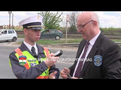 Fokozott rendőri ellenőrzés az ünnepi hétvégén
