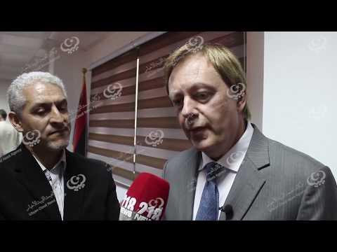 """السفير البريطاني """"فرانك بيكر"""" يزور بلدية الخمس"""