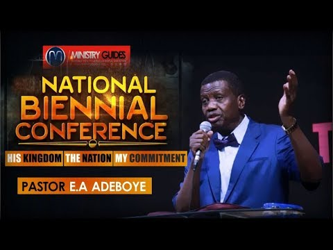 PASTOR E.A ADEBOYE | HIS KINGDOM  THE NATION  MY COMMITMENT | PFN