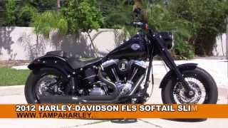 1. Used 2012 Harley Davidson FLS Softail Slim for sale Call Price Specs Review