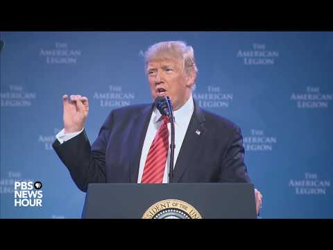 WATCH LIVE: President Trump addresses American Legion convention