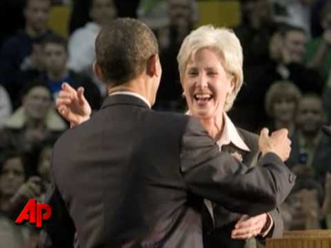 Official: Sebelius Near Top for Health Post