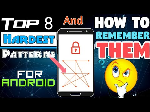8 Hardest Pattern Locks -Easily Remember them- Top 8 Tricks -NTNL (видео)