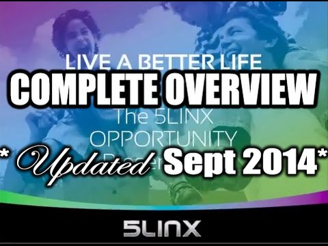 NEWEST COMPLETE 5LINX Business Opportunity Presentation *UPDATED Sept 2014*