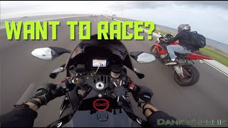 8. 2015 Yamaha R1 First Ride - Missed The Turn!