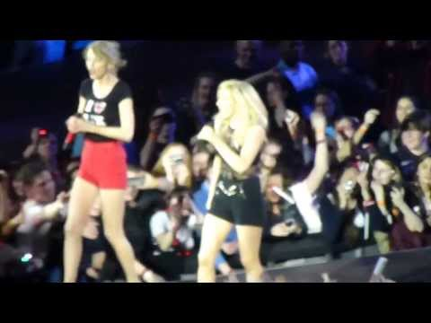 Taylor Helps Ellie w/Burn in London.