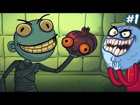 ТРОЛЛ ФЕЙС КВЕСТ ХОРРОР ААааАА! | Troll Face Quest Horror #1