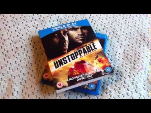 Unstoppable Blu-ray Unboxing