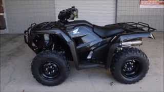 6. 2015 Honda Foreman ES 500 For Sale - ATV Dealer / Chattanooga TN GA AL TRX500FE1F