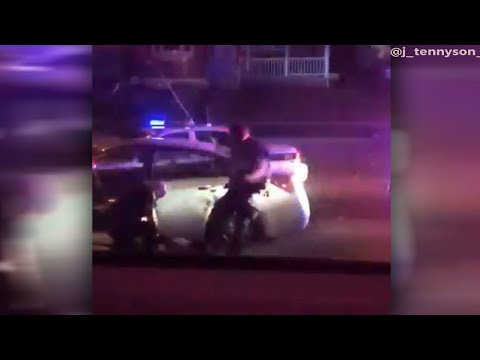 Franklin Township officer on leave after video shows suspect being kicked in head
