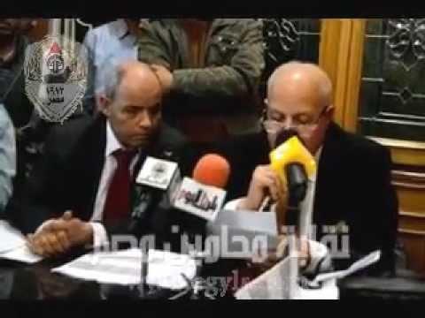 رضوان : عاشور رفع رأس المحاماه عاليا بفوزه بمنصب نقيب المحامين