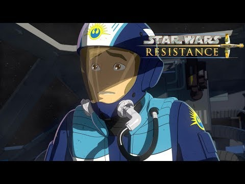 Star Wars Resistance | Episode 1 - The Recruit: Part 1 🚀 | Disney Xd