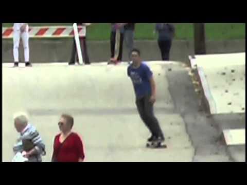 Old Orchard Beach Skatepark Fundraiser - Longboard Race.m4v