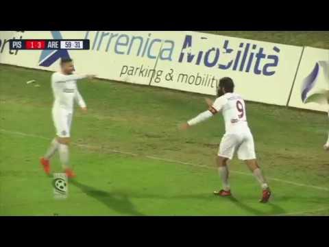 Pisa-Arezzo 2-3, le immagini della partita