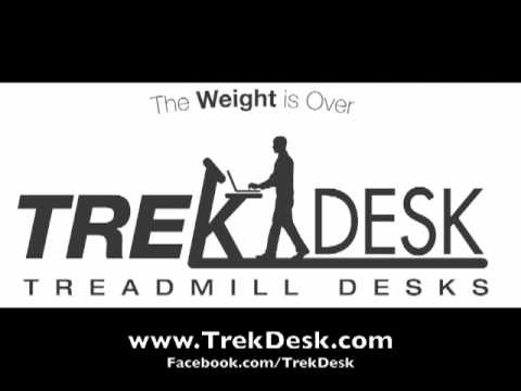 Workout at Work with TrekDesk Treadmill Desk Explored in Finanancial News Radio Interview