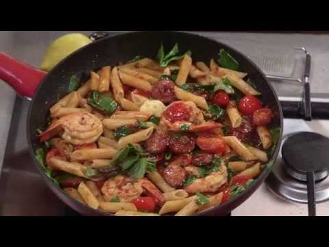 Gourmet Garden Chorizo, Basil and Chilli Pasta | Everyday Gourmet S6 E33