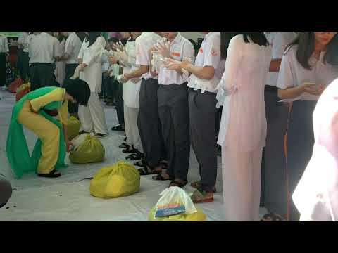 Hội thi phân loại rác thải sinh hoạt - THCS & THPT Phạm Ngũ Lão