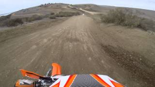 4. 2014 KTM 500 EXC at Metcalf OHV