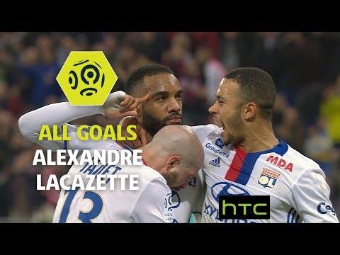 All goals Alexandre Lacazette - OL 2016-17 - Ligue 1