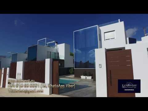 Nueva villa moderna en Finestrat, la Costa Blanca, España