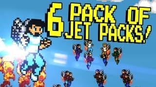 6 PACK OF JET PACKS!