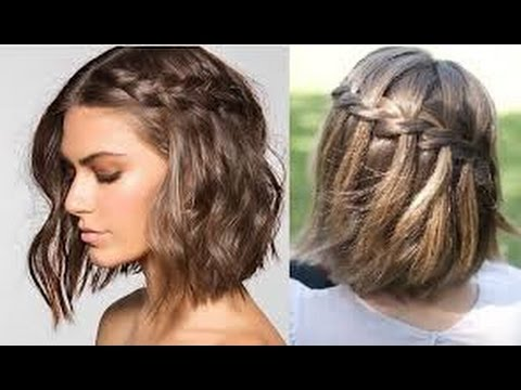 PEINADOS PARA CABELLO CORTO   Easy Hairstyles For Short Hair