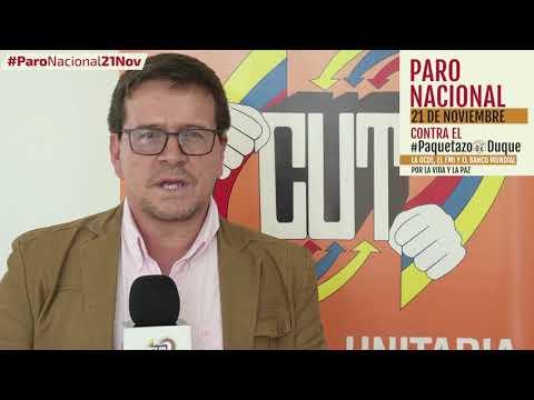 Huber Ballesteros invita al #ParoNacional21N