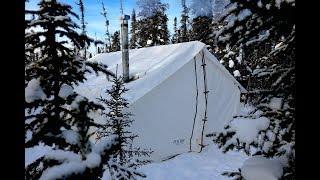 Video -34c Cold, Frigid and Freezing Wall Tent!! MP3, 3GP, MP4, WEBM, AVI, FLV September 2019