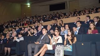 """Nonton A premiere of the movie """"Ali and Nino"""" takes place at the Heydar Aliyev Center Film Subtitle Indonesia Streaming Movie Download"""