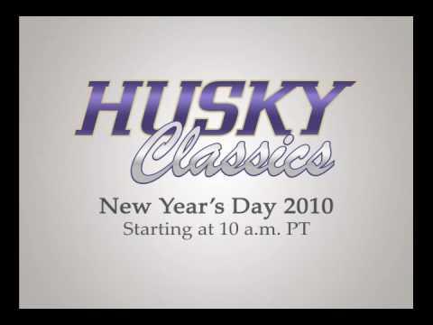 Husky Classics Fußball auf UWTV, New Year  's Day 2010!