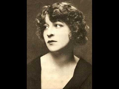 Fanny Brice - I'd Rather Be Blue Over You, 1929