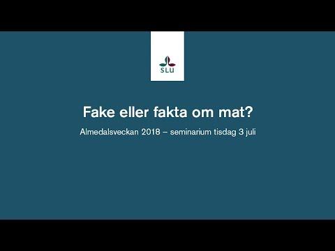 Fake eller fakta om mat