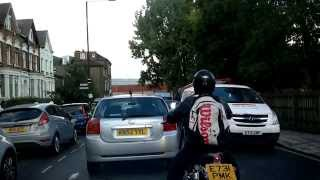 Bad London Bus Driving - Route W5 - Haringey