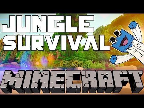 Minecraft: Jungle Survival Co Op: Ep1