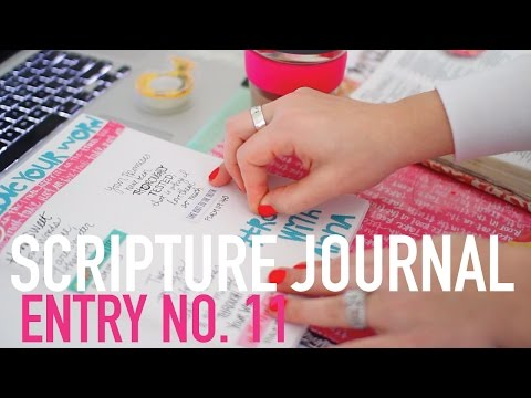 Scripture Journal | Entry No. 11