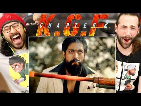 KGF CHAPTER 2 | Teaser TRAILER REACTION!! (Yash | Sanjay Dutt | Prashanth Neel)
