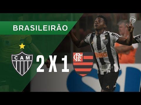 ATLÉTICO-MG 2 X 1 FLAMENGO - GOLS - 18/05 - BRASILEIRÃO 2019