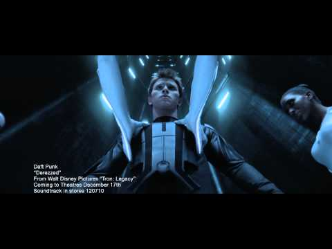 Derezzed - Here is a music video from the up coming movie TRON LEGACY, featuring original music by Daft Punk and a cameo of them. There is also a cameo of Michael Sheen...