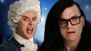 Mozart vs Skrillex. Epic Rap Battles of History