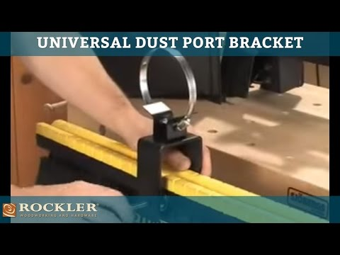 Universal Dust Port Bracket
