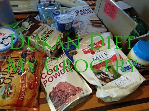 My Dukan Diet Grocery